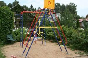 Ландшафтный дизайн с учётом интереса ребёнка.