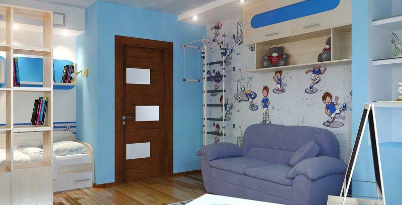 Интерьер и дизайн детских комнат