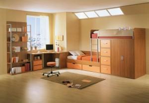 Интерьер детской комнаты для мальчика и для девочки