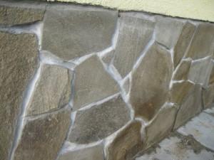 Облицовка песчаником стен