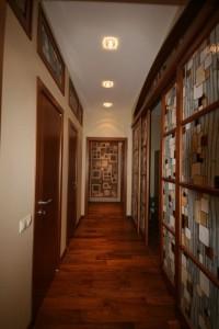 Раздвижные витражные двери